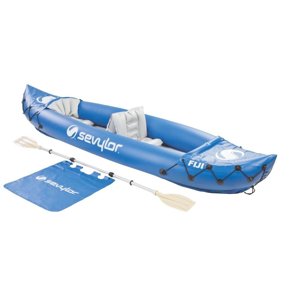 Image of Sevylor Fiji Kayak Travel Inflatable Pack - Blue