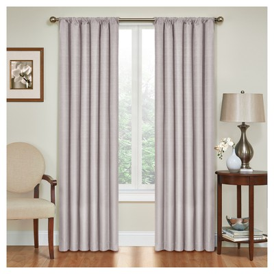 Kendall Thermaback Blackout Curtain Panel Gray (42 x95 )- Eclipse™
