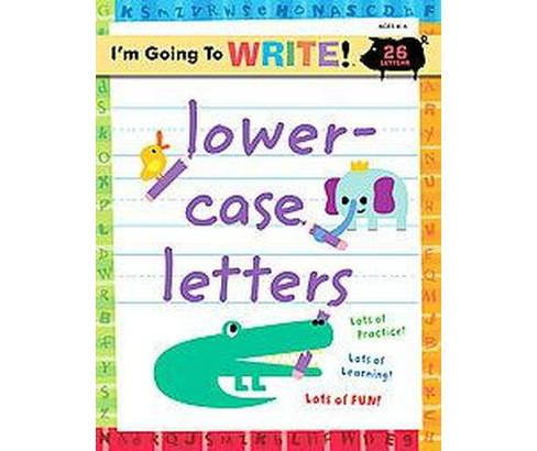 Lowercase Letters (Workbook) (Paperback) - image 1 of 1