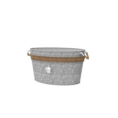 Iron Galvanized Beverage Tub - Mesa