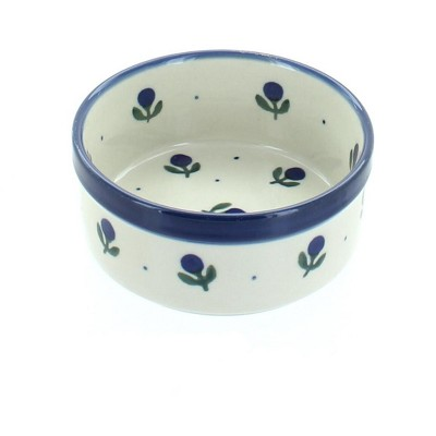 Blue Rose Polish Pottery Blueberry Small Ramekin