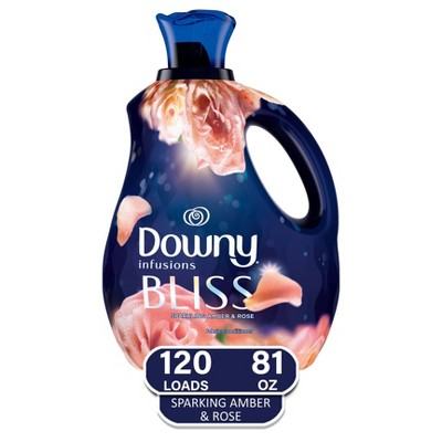 Downy Infusions Amber /Bliss Liquid Fabric Softener - 81oz