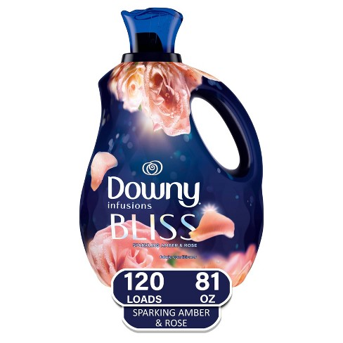Downy Infusions Amber /Bliss Liquid Fabric Softener - 81oz - image 1 of 4
