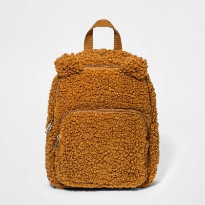 Girls' Bear Mini Backpack - Cat & Jack™ Brown
