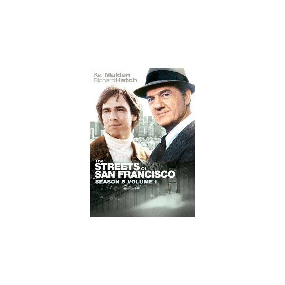 The Streets of San Francisco: Season 5, Volume 1 (DVD) was $14.99 now $8.79 (41.0% off)