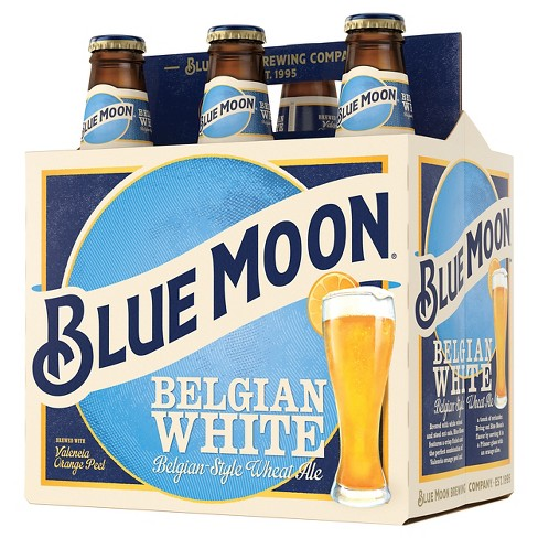 Blue Moon® Belgian White Wheat Ale - 6pk / 12oz Bottles - image 1 of 1
