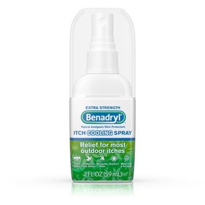 Benadryl Itch Cooling