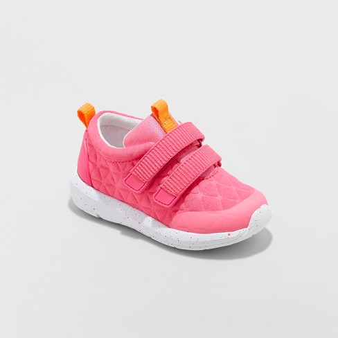 Toddler Girls' Dustina Athletic Sneakers - Cat & Jack™ Pink - image 1 of 3