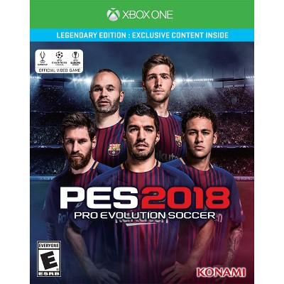 Pro Evolution Soccer 2018 Legendary Edition Xbox One
