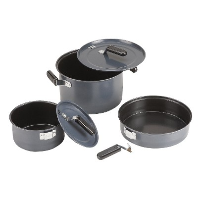 Coleman® 3pc Family Cook Set - Black