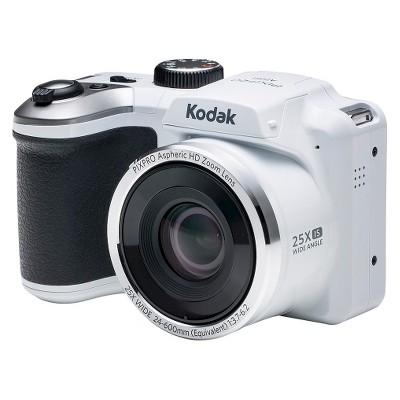 Kodak AZ251-WH 16MP Digital Camera with 25x Optical Zoom - White