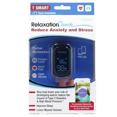 ChoiceMMEd Pulse Oximiter with Relaxation Coach