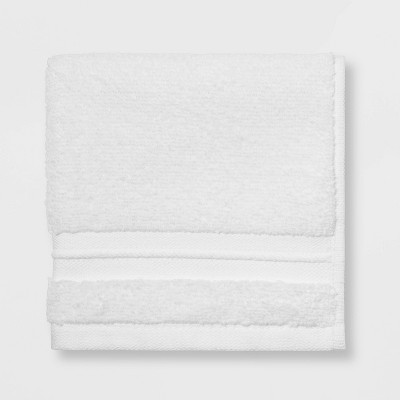 Spa Washcloth White - Threshold Signature™
