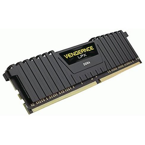 CORSAIR Vengeance LPX 32GB (1 x 32GB) DDR4 2666 (PC4-21300) C16 Desktop Memory - Black - image 1 of 1