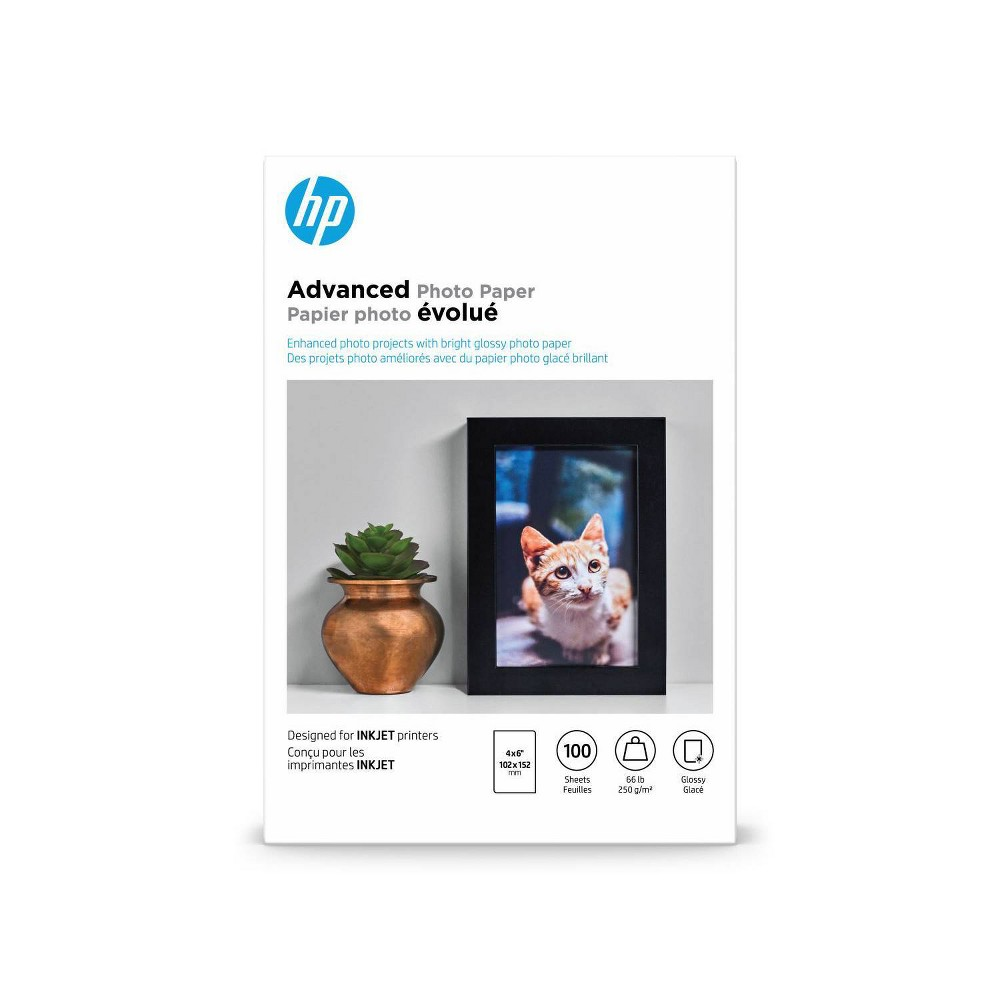 Hp Advanced Glossy Photo Paper Q6638a