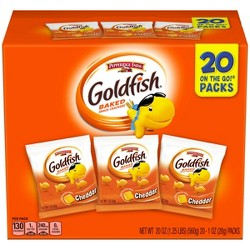 Pepperidge Farm Goldfish Crackers Variety Pack -20ct - 19.5oz