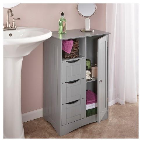 Ashland Collection 1 Door3 Drawer Floor Cabinet Riverridge