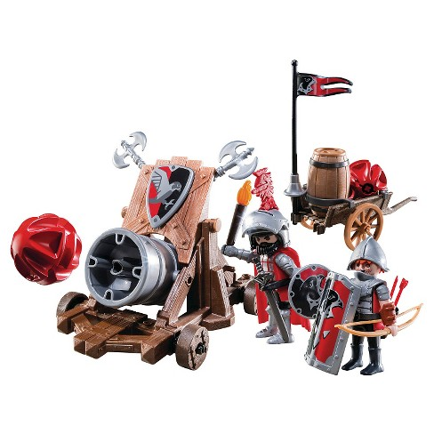 Playmobil Hawk Knights' Battle Cannon Playset - image 1 of 2