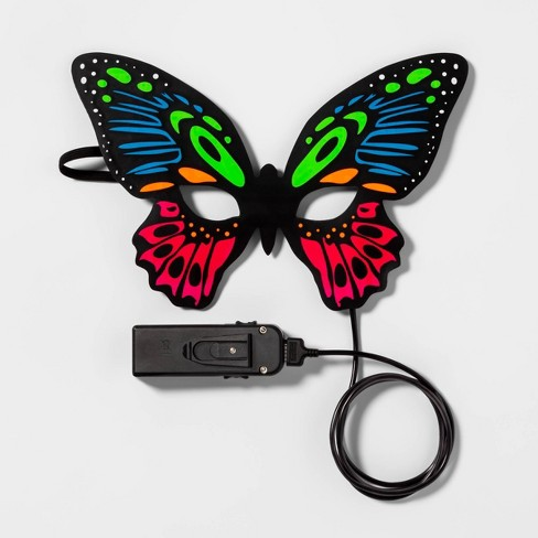 Adult Light Up Butterfly Halloween Costume Mask - Hyde & EEK! Boutique™ - image 1 of 3