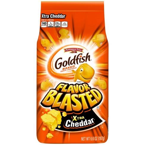 Pepperidge Farm Goldfish Flavor Blasted Xtra Cheddar Crackers - 6.6oz - image 1 of 6