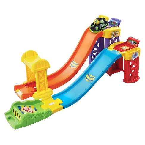 VTech Go! Go! Smart Wheels 3-in-1 Launch and Play Raceway - image 1 of 5