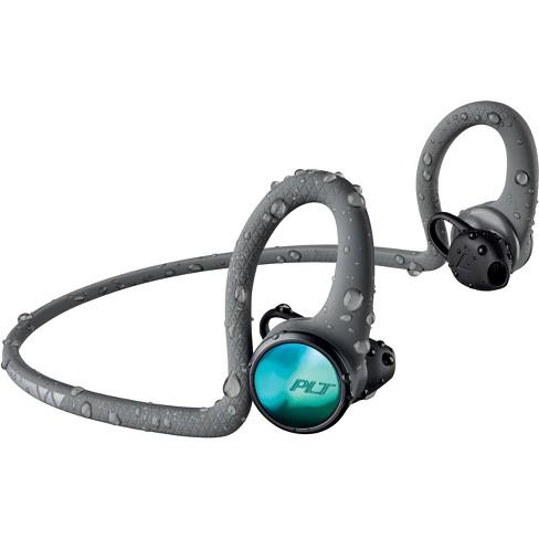 b999e710ebf Plantronics BackBeat FIT 2100 Ultra Stable Rugged Wireless Earbuds - Grey :  Target
