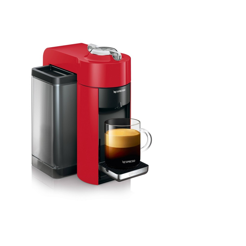 Nespresso Vertuo Coffee and Espresso Machine Red by De'Longhi