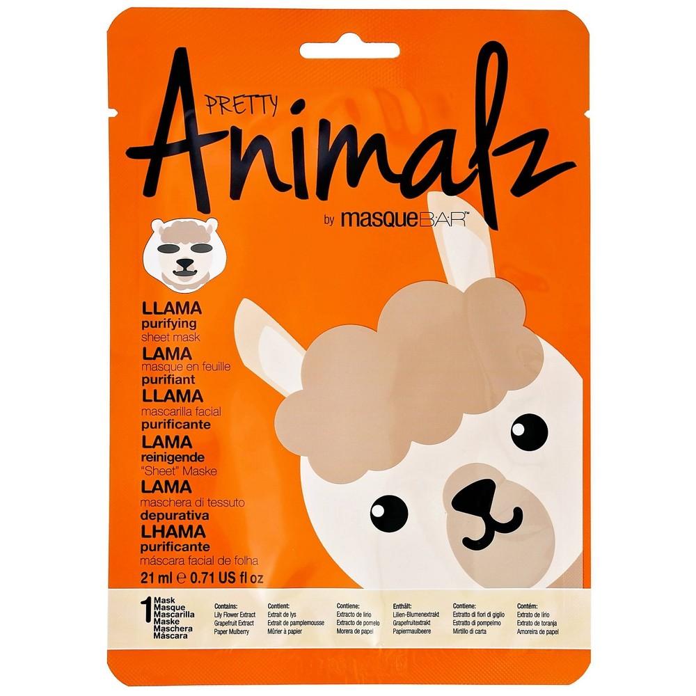 Image of Masque Bar Basic Cleansing Pretty Animalz Llama Purifying Mask - 0.71 fl oz