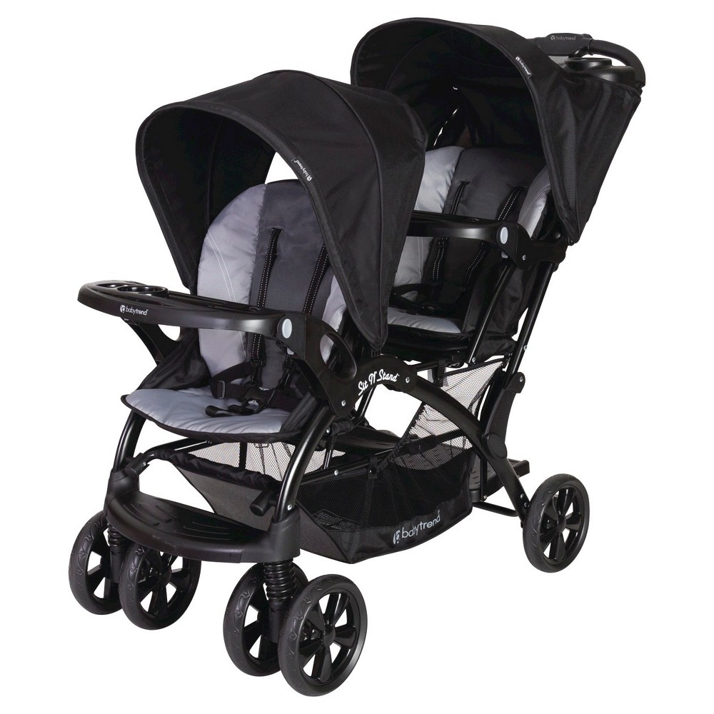 Image of Baby Trend Sit N' Stand Double Stroller - Moonstruck