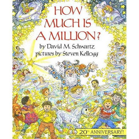 How Much Is a Million? - (Reading Rainbow Books) by  David M Schwartz (Hardcover) - image 1 of 1