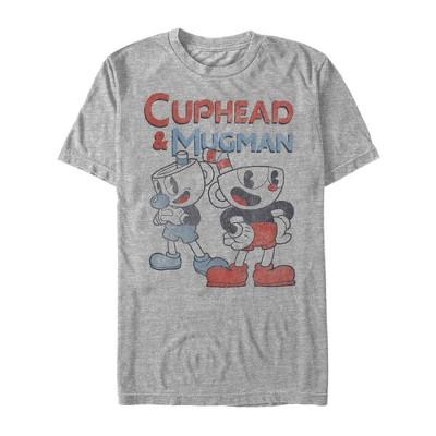 Men's Cuphead Best Friend Mugman T-Shirt