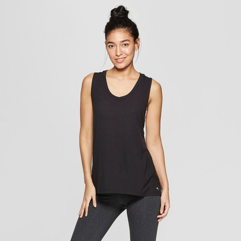 Women's Ribbed Twist Back Tank Top - JoyLab™ - image 1 of 2