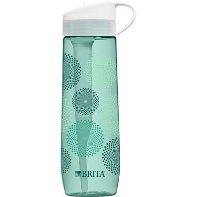 Brita Hard Sided 23.7 oz Water Bottle - Mint Sunburst