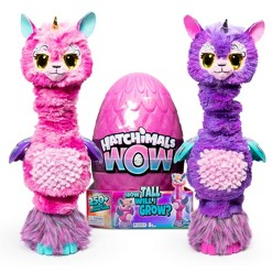 "Hatchimals WOW 32"" Interactive Hatchimal Blind Pack with Re-Hatchable Egg - Llalacorn"