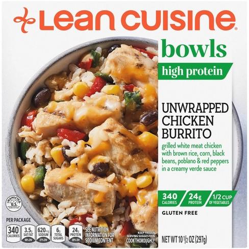 Lean Cuisine Gluten Free Unwrapped Burrito Bowl - 10.5oz - image 1 of 4