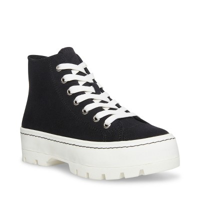Madden Girl Shaddoww High-Top Lace-Up Sneaker