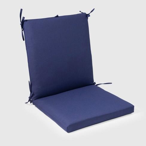 Outdoor Chair Cushion Navy Threshold Target