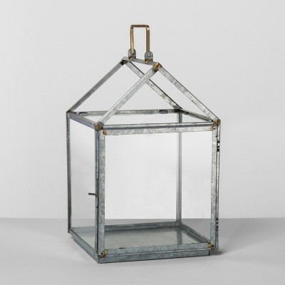 Galvanized House Lantern Medium - Hearth & Hand™ with Magnolia