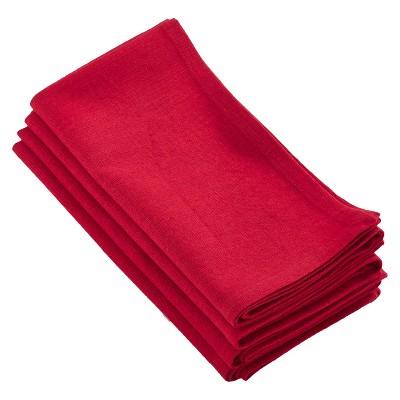 4pk Red Juliana Design Napkin 20  - Saro Lifestyle®
