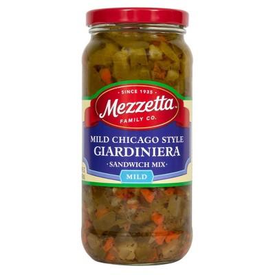 Mezzetta Chicago-Style Mild Giardiniera Italian Sandwich Mix - 16oz