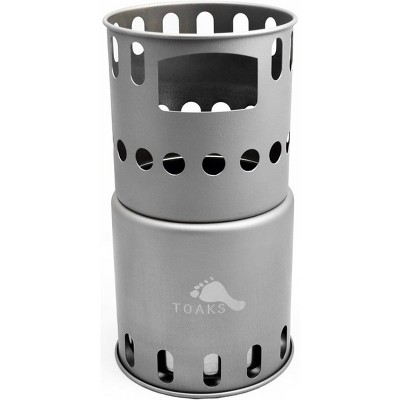 TOAKS Titanium Backpacking Wood Burning Stove STV-11