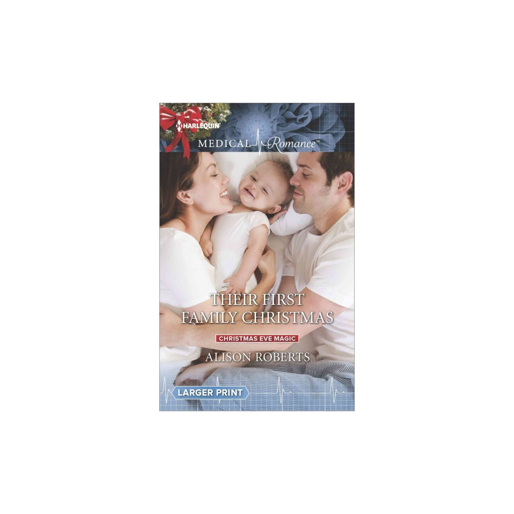 Their First Family Christmas - Lgr (Christmas Eve Magic) by Alison Roberts (Paperback)