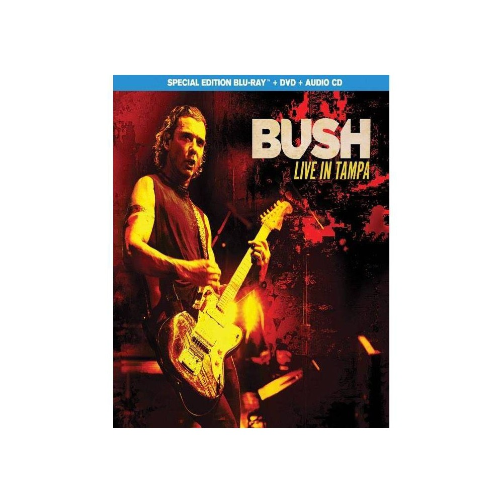 Bush Live In Tampa Blu Ray