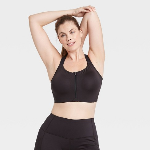 Women's High Support Zip-Front Bra - All in Motion™ - image 1 of 4