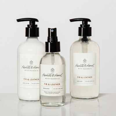 Bath And Body Gift Sets - Fir & Leather - Hearth & Hand™ with Magnolia