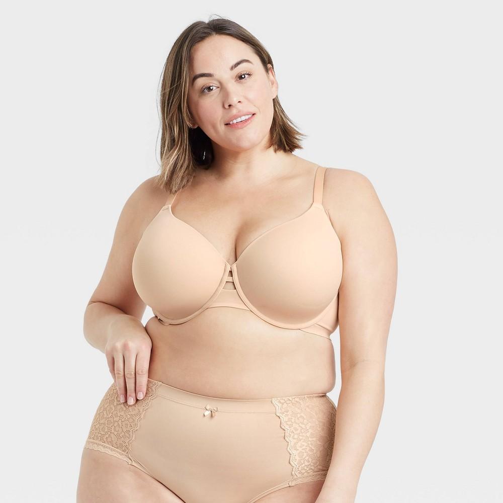 Women 39 S Plus Size Back Smoothing Bra Auden 8482 Beige 46d