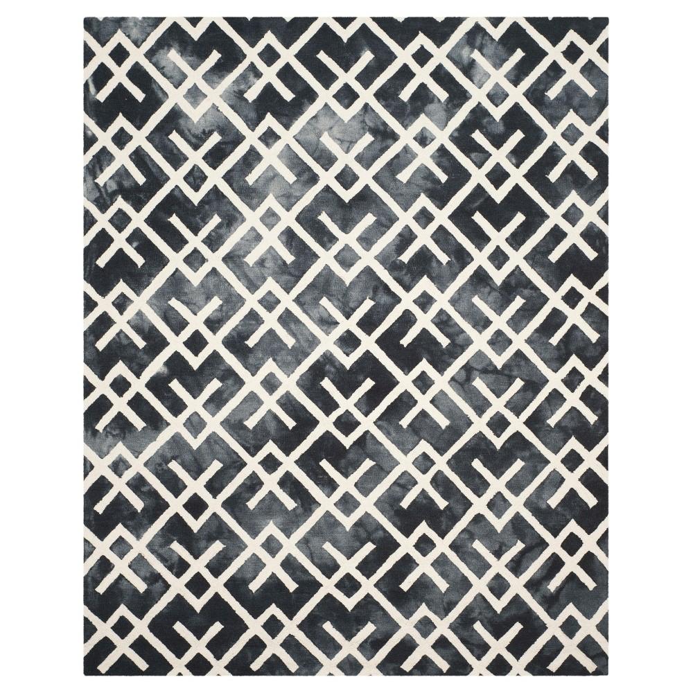 Denzell Area Rug - Graphite/Ivory (Grey/Ivory) (8'x10') - Safavieh