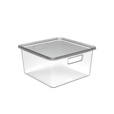 Half Medium Cube Bin With Lid - Made By Design™