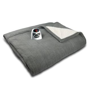 Microplush with Sherpa Electric Blanket - Biddeford Blankets