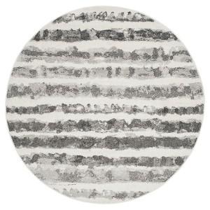 Adirondack Rug - Ivory/Charcoal - (6